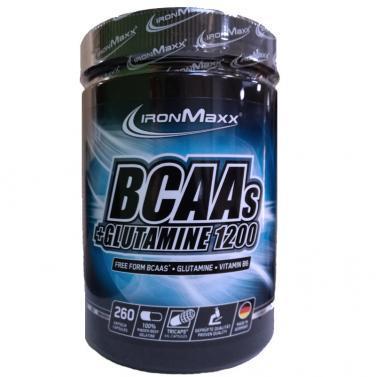 ironmaxx bcaa + glutamine 1200