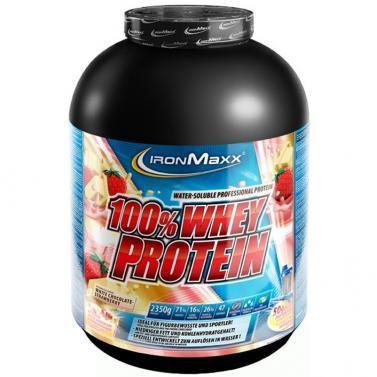 ironmaxx 100% whey protein 2350