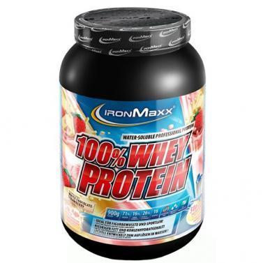 ironmaxx 100% whey protein 900