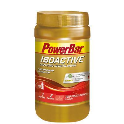powerbar isoactive 600g dose