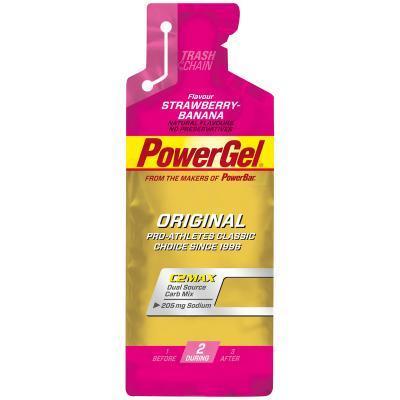 powerbar power gel c2max