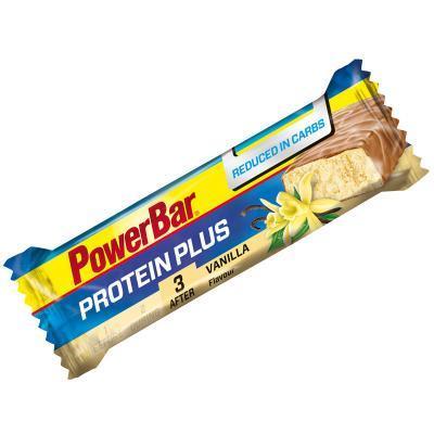 powerbar protein plus reduced in carbs riegel