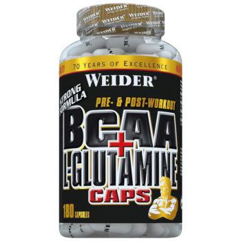 weider bcaa + glutamine kapseln