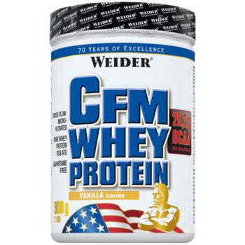weider cfm whey protein 908g dose