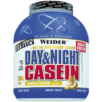 weider day and night casein 1800g dose