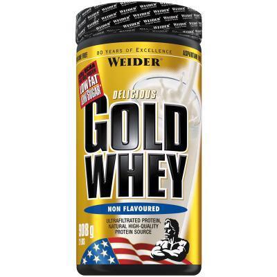 weider gold whey 908g dose