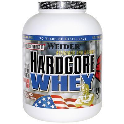 weider hardcore whey 3178g dose