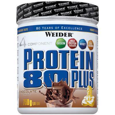 weider protein 80 plus 750g dose