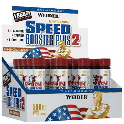 weider speed booster plus 2 ampullen