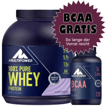 Multipower Whey + BCAA Aktion