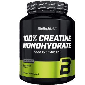 biotech usa 100% Creatin monohydrat 1kg